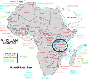 where is the serengeti plain on a map of africa Tanzania Introduction where is the serengeti plain on a map of africa